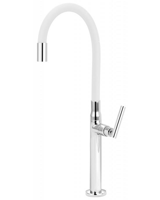 Torneira Banheiro Para Cuba De Apoio Bica Articulada Branca Versata Esteves VTM156CWC
